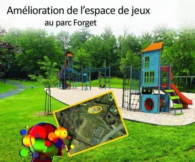 Amélioration parc Forget - Avec titre