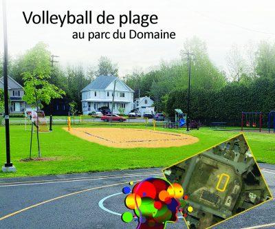 Volleyball de plage - Avec titre